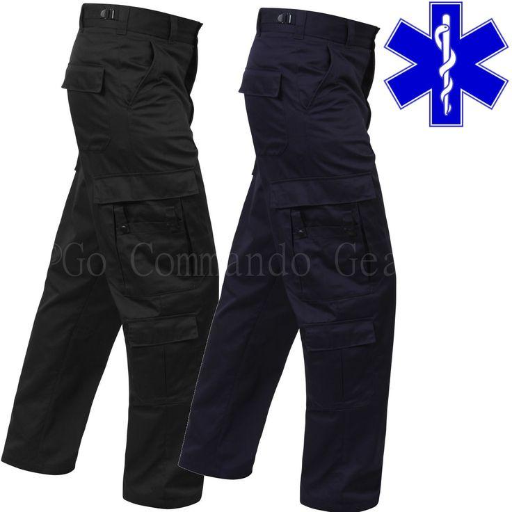 EMT Paramedic Pants  EMS Medic Tactical Uniform  Regular Long or Short Lengths