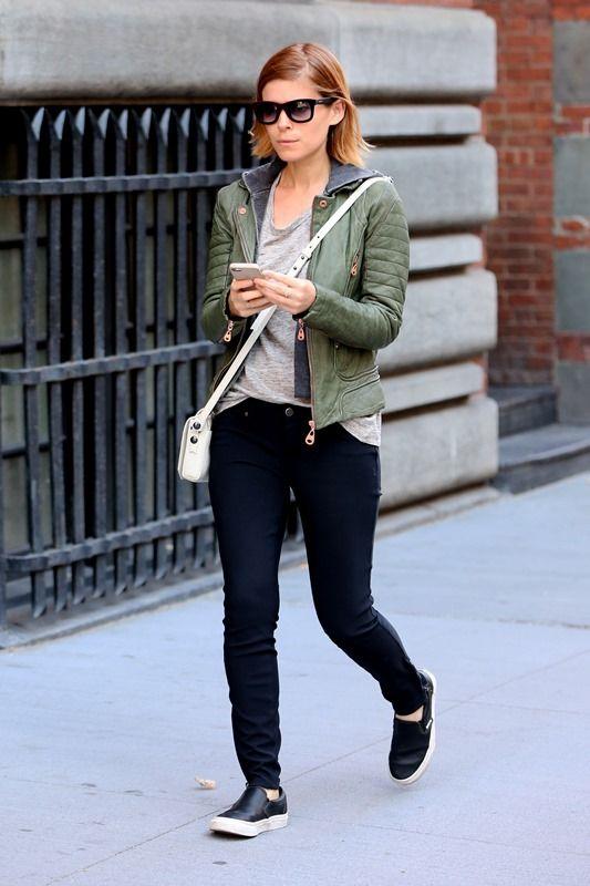 Kate Mara's green leather jacket Lainey Gossip Entertainment Update
