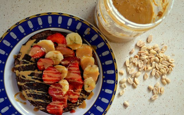 High protein pancakes with oats flavour. Perfect after workout