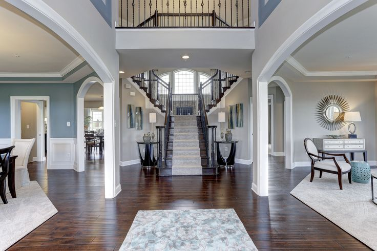 Entryway in the foyer of our Berkshire Model home