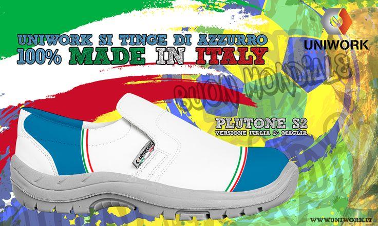 Uniwork è 100% Made in Italy e tifa per gli Azzurri, qualsiasi divisa indossi in campo...