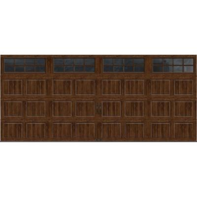 Gallery collection 16 ft x 7 ft 18 4 r value intellicore for 16 ft x 7 ft garage door