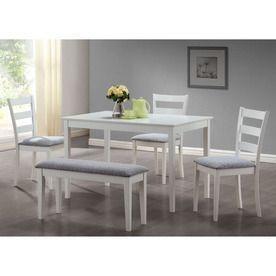 Best 20 White Dining Set Ideas On Pinterest White Kitchen Table - white kitchen table with bench