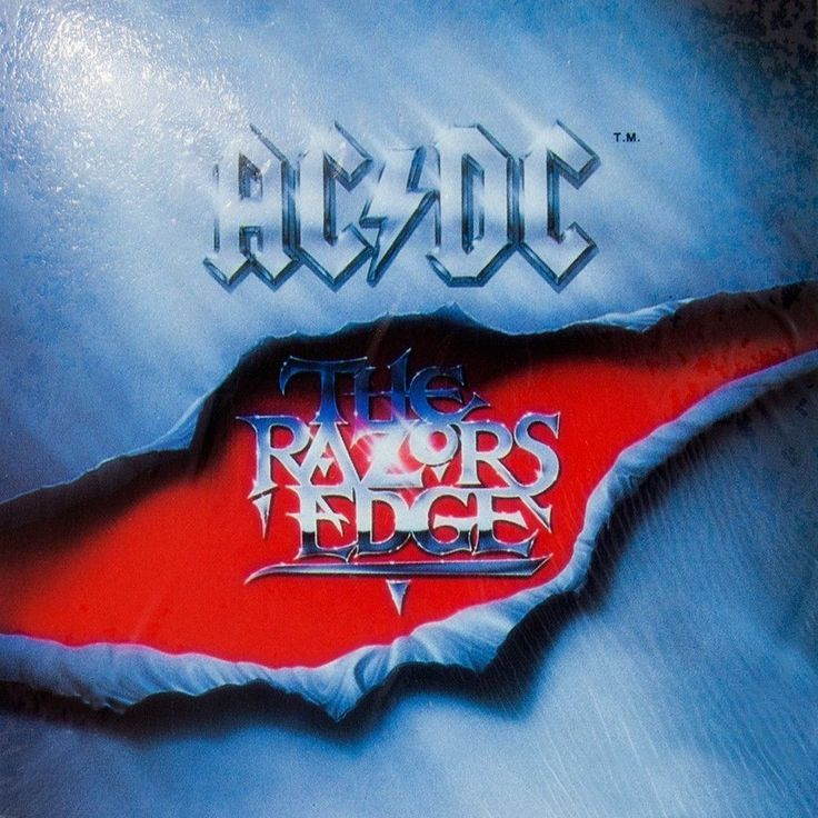 AC/DC - The Razors Edge - Cling-On Sticker