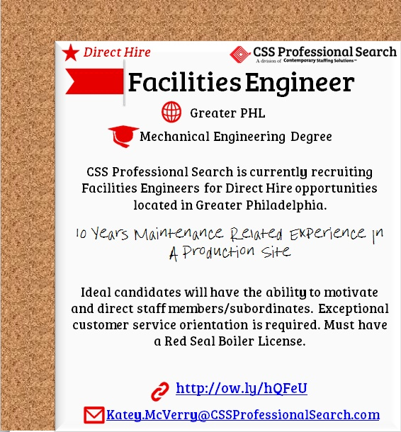 22 best CSS Pro Search Job Board images on Pinterest Board - facility engineer sample resume