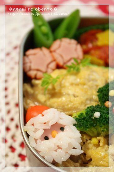 Rice Santa Claus! Christmas Kyaraben Bento Lunch