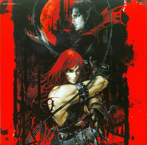Imagem de castlevania, game, and manga