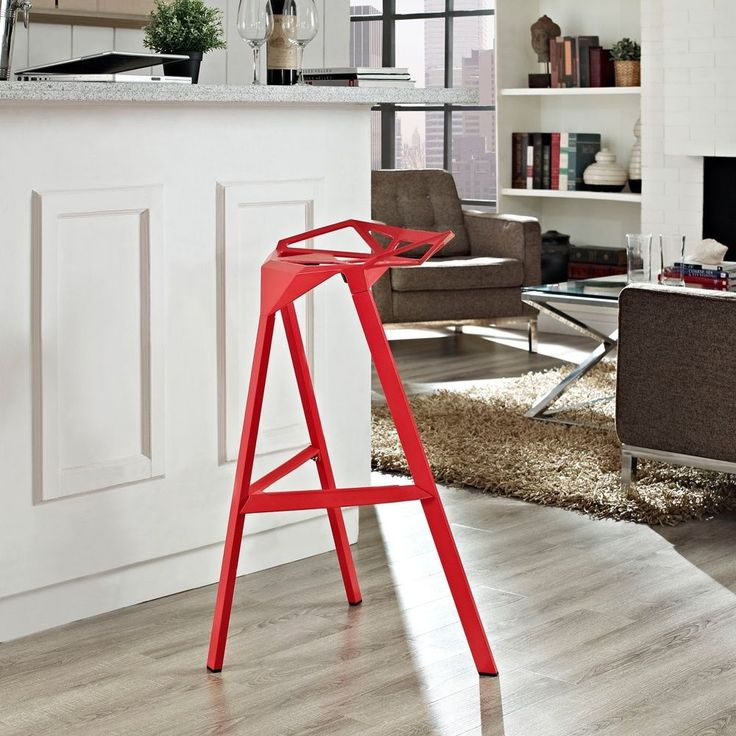 Details about Unique Bar Stools Inch Geometric Tractor Style Seat Stackable Indoor Outdoor