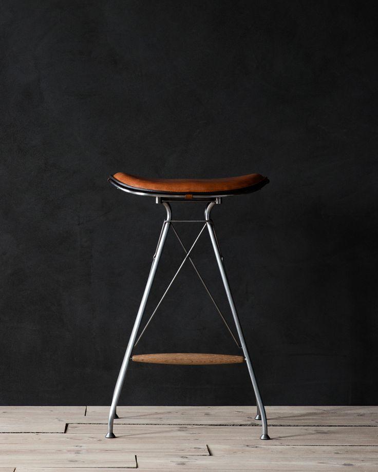 Wire Bar Stool by Overgaard & Dyrman
