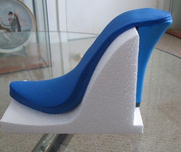 Como fazer apoio para molde de sandália salto alto  de pasta americana!