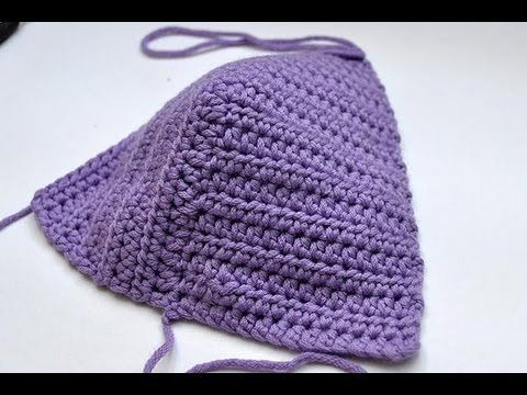 BiKiNi a CROCHET (ganchillo) - PARTE 3 DE 3 - YouTube