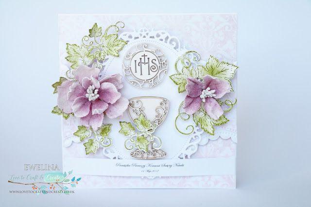 Elina Cardmaking Hobby: Holy Communion Card