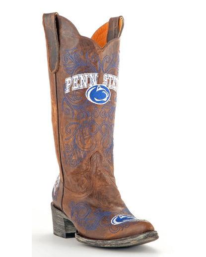 Women's Penn State Boot - Brass