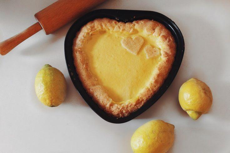 Пирог с лимонным кремом (Кростата с лимоном)