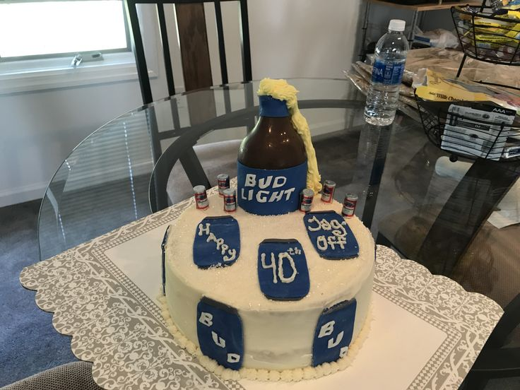 Bud Light Cake