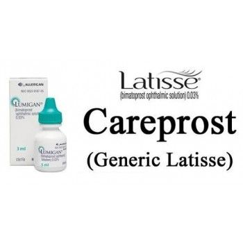 Buy Careprost Eye Drops (Bimatoprost) 3 ml. of 0.03% Online Cheapest Price USA. Careprost eye drop contains Generic Bimatoprost which is useful for lowering the pressure inside the eye. Special Offer & Discount to US customer- Pay eCHECK Get 5% Discount