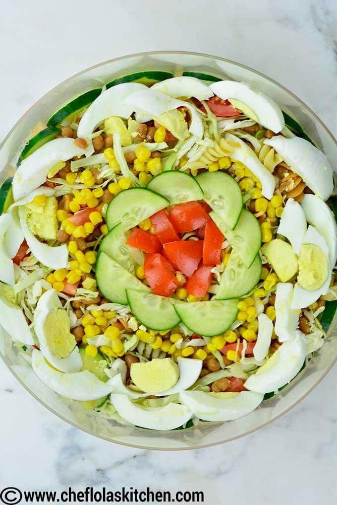 Classic Nigerian Salad Recipe Yummy Salad Recipes Salad