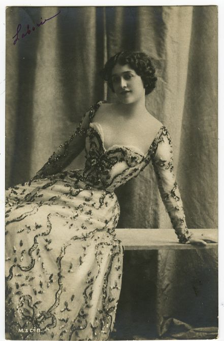 Circa 1902 French Theater Lina Cavalieri Opera Singer Music Hall Photo Postcard | eBay