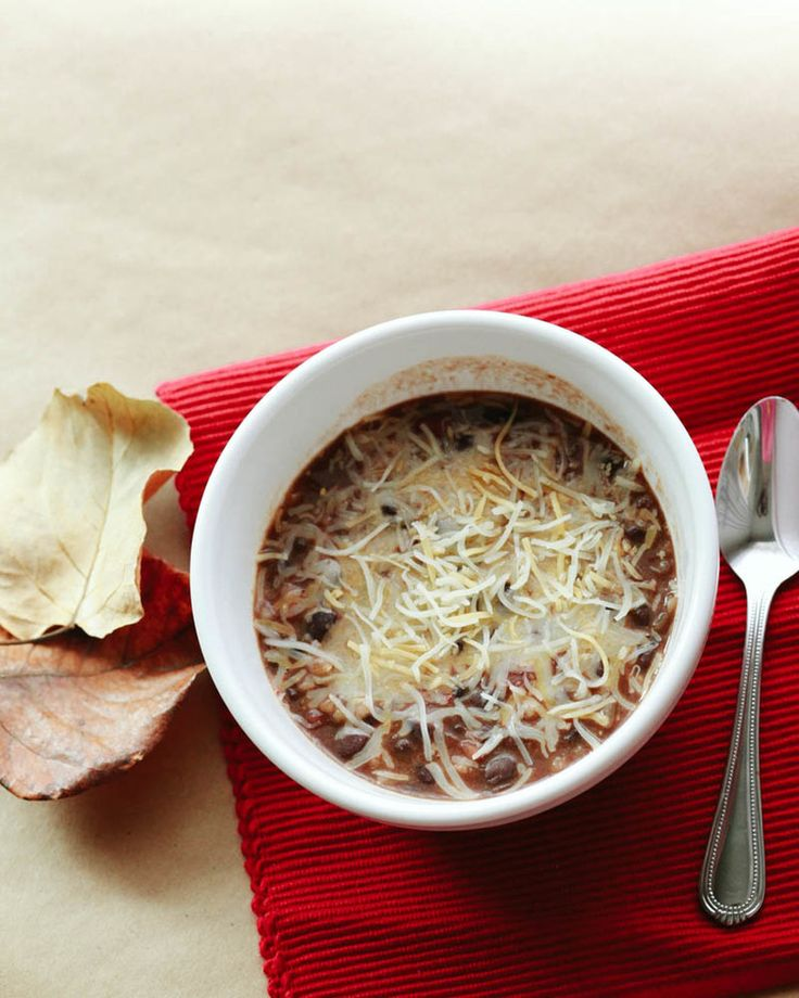 Black Bean and Rice Soup Recipe