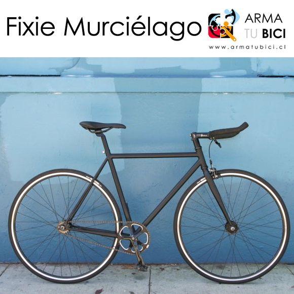 #bicicleta #fixie 'Murciélago' desde $194.900 en #armatubici_cl ! Piñón fijo-libre. Disponible también con cambios y marco de aluminio. Más opciones en http://ift.tt/1Vn464h #bici #bicicletas #arribadelachancha #furiososciclistas #ciclistasurbanos #enbiciando #ciclistaschile