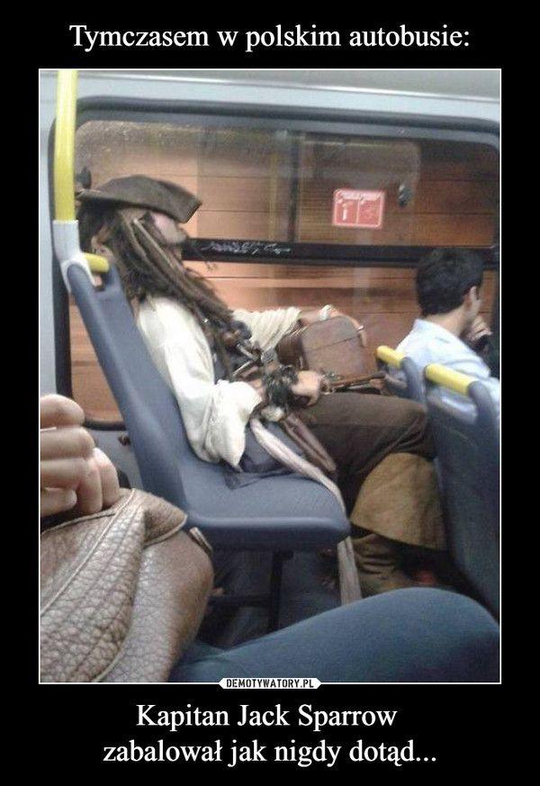 Kapitan Jack Sparrow zabalował jak nigdy dotąd... –