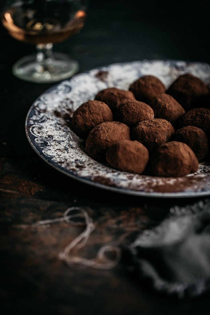 Easy as homemade chocolate yoghurt truffles + 16 flavour ideas for the lazy gal!   Anisa Sabet   The Macadames   Food Styling   Food Photography   Props   Moody   Food Blogger   Recipes