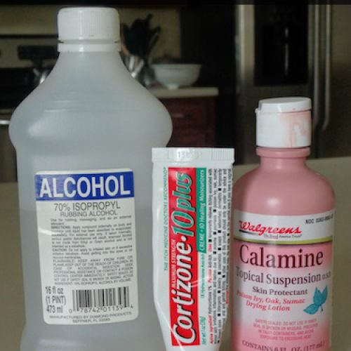 Homemade Poison Ivy Cure