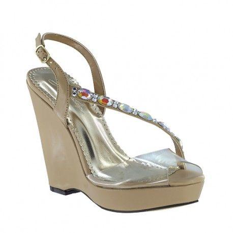 Johnathan Kayne womens Wedge sandals at BenjaminWalkShoes.com