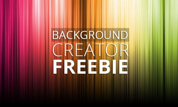 Free background creator for Photoshop