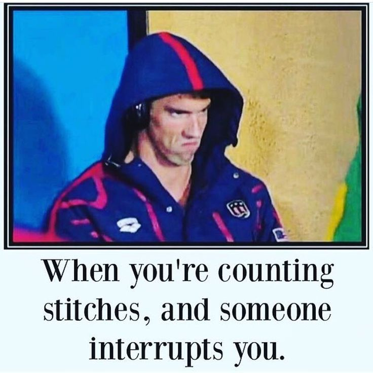 We love a good #michaelphelps knitting meme during the #rio2016 Olympics…