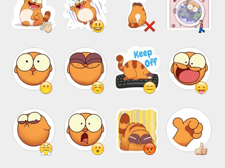 Legcat Stickers Set | Telegram Stickers