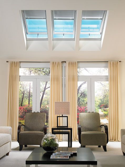 20 Trendy Ideas For A Home Office With Skylights: VELUX Skylights: A Collection Of Ideas To Try About