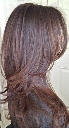Cortes de cabello en capas                              …