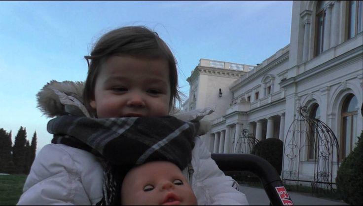 Кукла Беби Бон дворец Ливадия Ялта на машинке Doll Baby Bon come to Palace by car