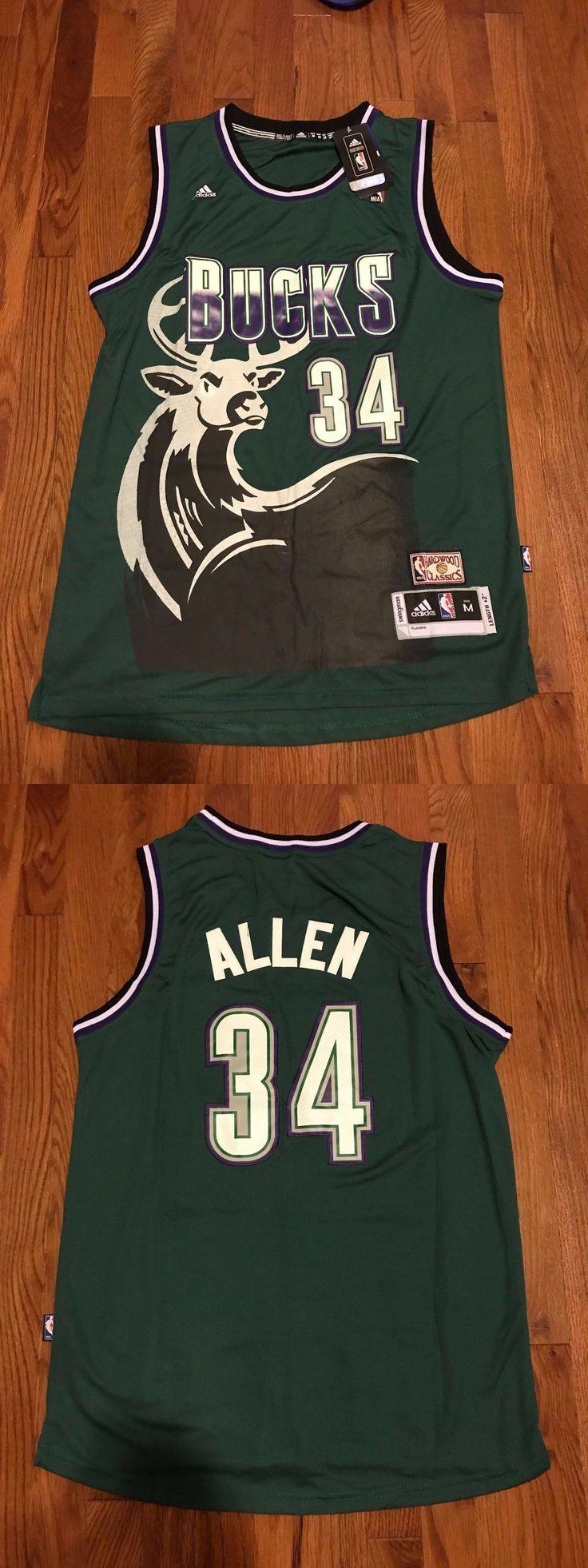 Basketball-NBA 24442: Nba Milwaukee Bucks Ray Allen Hardwood Classic Swingman Men Jersey -> BUY IT NOW ONLY: $34.95 on eBay!