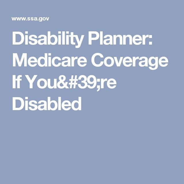81 best intellectualdevelopmental disabilities images on disability planner medicare coverage if youre disabled ccuart Choice Image
