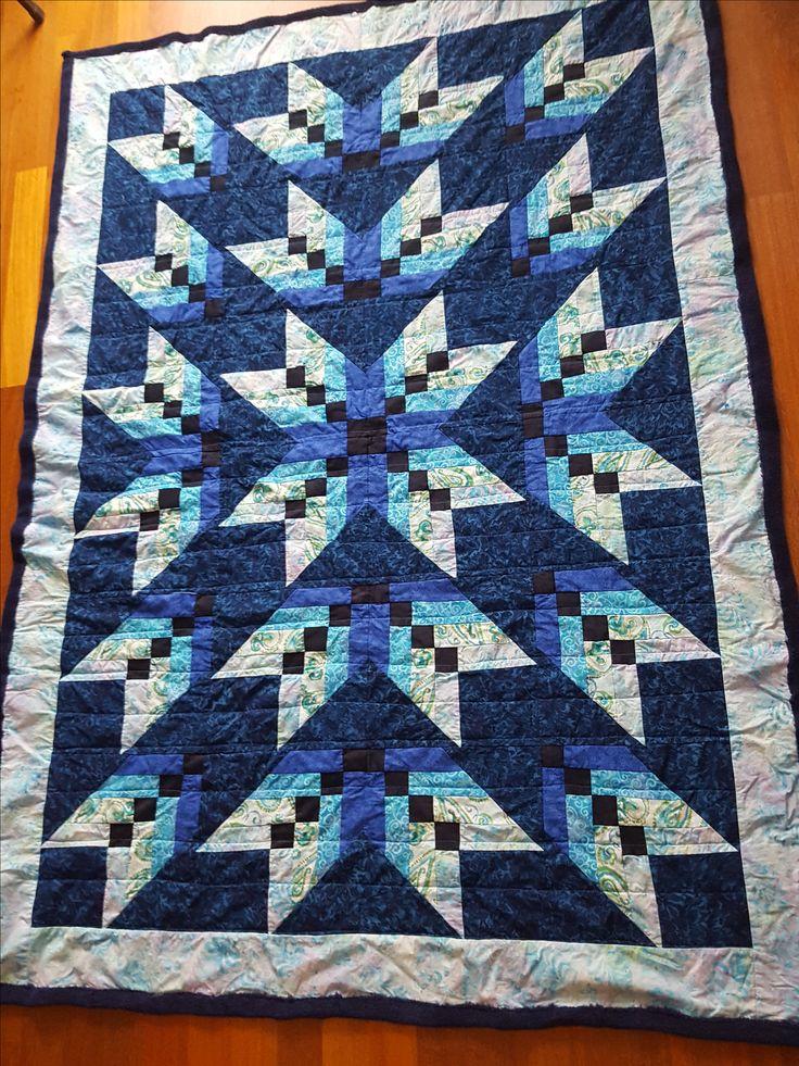 Las 25 mejores ideas sobre patrones de colchas modernos en - Patrones colchas patchwork ...