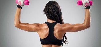 упражнения для спины с гантелями для женщин