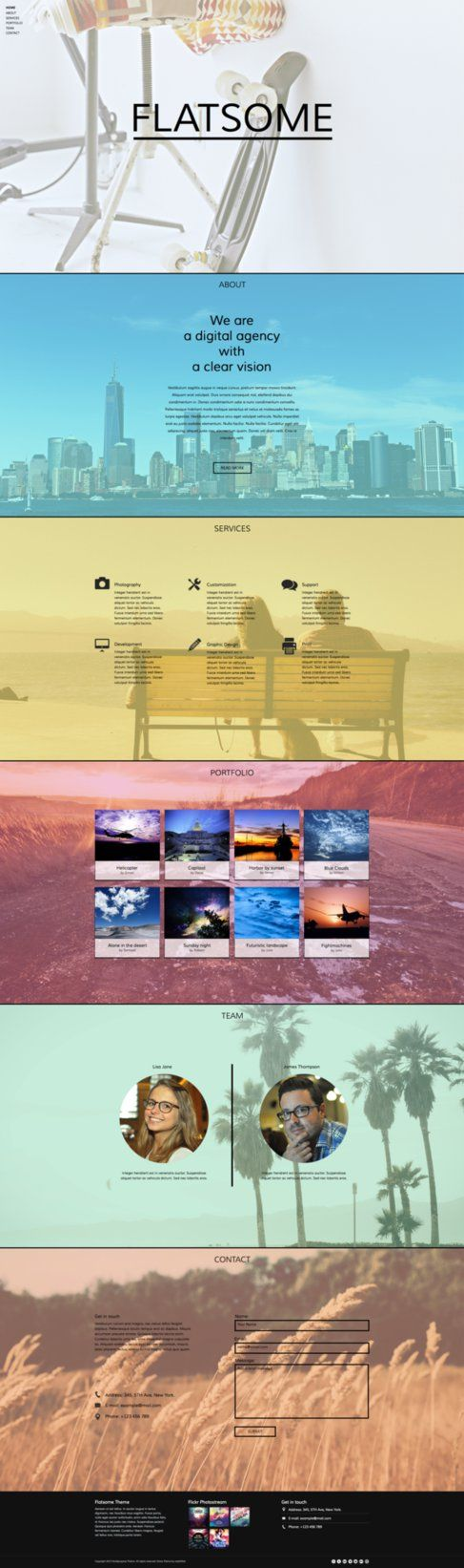 34 best adobe muse templates images on pinterest adobe muse flatsome one page muse theme by stylewish on themeforest adobe muse template pronofoot35fo Images
