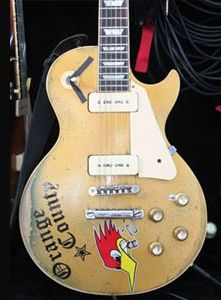 Mike Ness' (Social Distortion) Personalized Les Paul