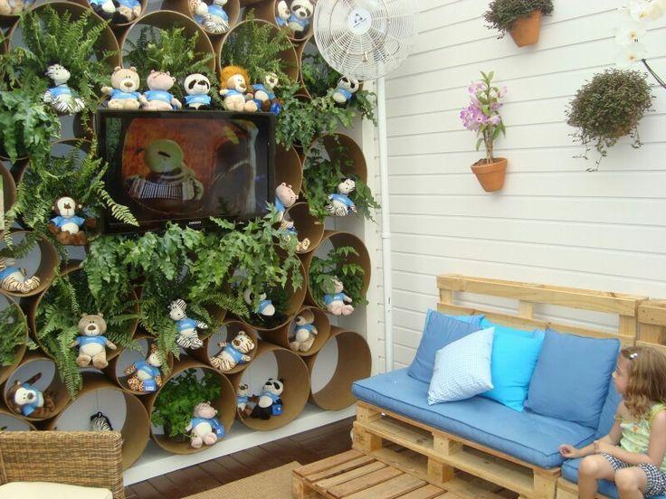 Jardins para espaços pequenos
