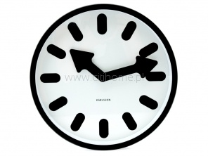 Zegar ścienny KARLSSON Pictogram biało-czarny  http://www.citihome.pl/zegar-scienny-karlsson-pictogram-bialo-czarny.html