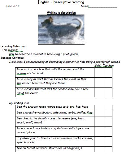 Letter writing service activities ks2