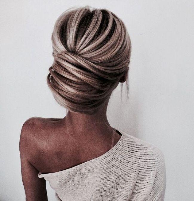 #Updo #Updohair #weddingUpdo #Promhair elegant updos french twist updo short formal hairstyles short updos #we