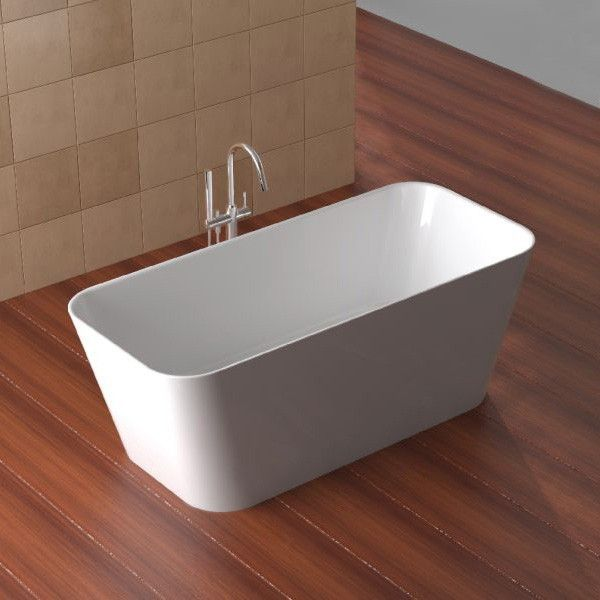 Ultimo Thin Edge Freestanding Bath 1500mm