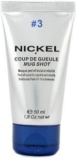 Nickel Mug Shot #3 Peel Off Mask 1.7 oz by Nickel. $48.00. How To Use: Spread over the skin in a thin, even layer. Leave for 7 to 8 minutes. Rinse.. Skin Type: For All Skin Types. Key Ingredients: Water, Polyvinyl Alcohol, Alcohol Denat, PEG-90, Glycerin, Propylene Glycol, Methys. Size: 2.6 Ounce. The skin of regular smokers and city-dwellers often looks grey and pale. This peel-off mask offers a simple and effective solution. Used twice a week this flexible film literally pee...