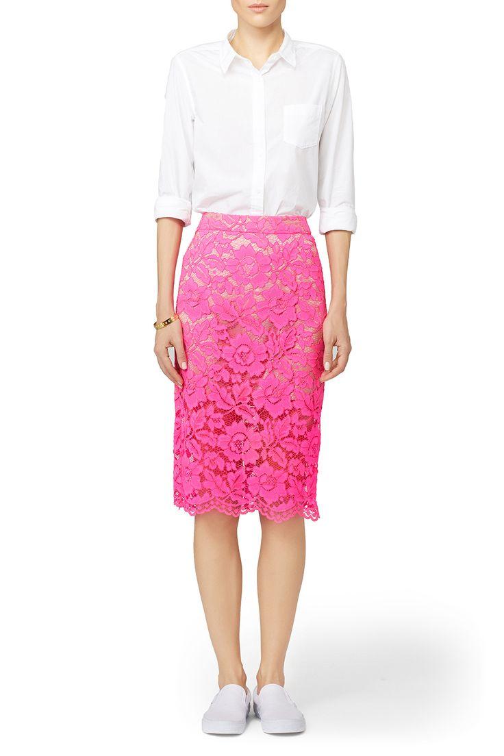 Best 25+ Pink lace skirt ideas on Pinterest | Lace skirt ...