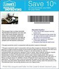 One Lowes 10% Off- FAST DELIVERY - Exp 10/02/14 ~:::: - http://couponpinners.com/coupons/one-lowes-10-off-fast-delivery-exp-100214/