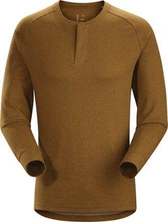 Arc'teryx Men's Sirrus Henley Shirt Centaur Heather XXL