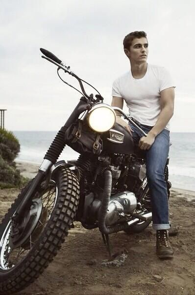 Favorite celebrities motorcycle Dave Franco